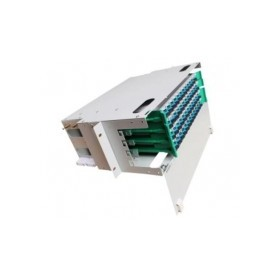 【48芯满配】电信级一体化熔纤盘SC接口FC 48芯ODF