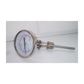 WSS481万向双金属温度计,轴向径向温度计
