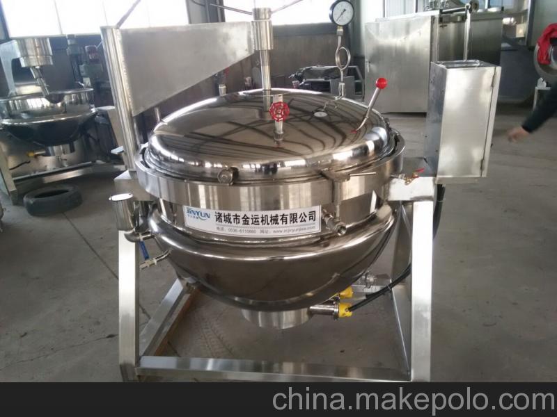 【厂家直销】牛羊肉蒸煮设备 板筋蒸煮锅 猪肉压力煮锅