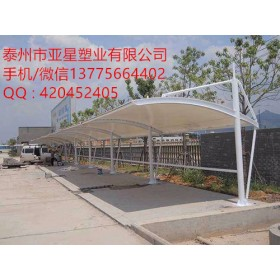 加油站、停车棚、码头、停车场等四氟膜材   铁氟龙膜材