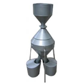 钟鼎式分样器,分样器,郑州钟鼎式分样器价格/厂家