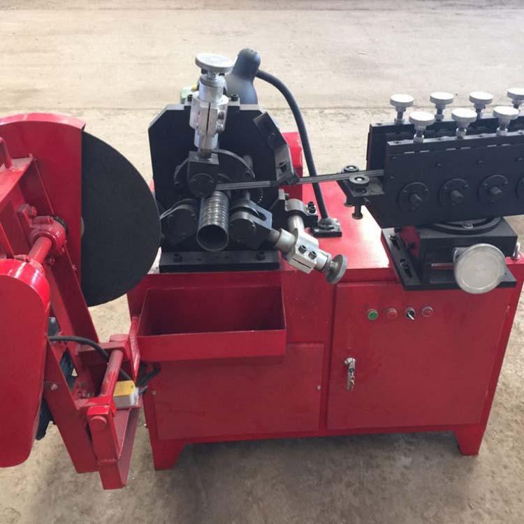 甘肃兰州!波纹管制管机扁管机 全自动金属波纹管制作机器