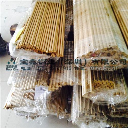 现货HPb62-0.8铅黄铜棒 环保 实心黄铜棒 规格齐全