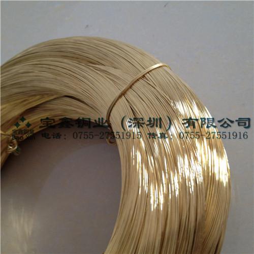 H65黄铜线 环保黄铜线 铜丝 0.3mm-2.5mm 现货