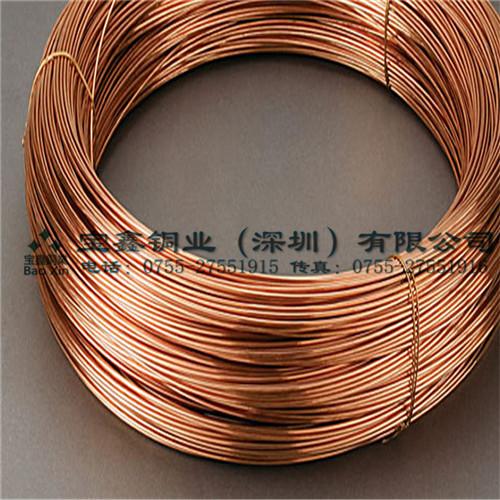 厂家直销 进口紫铜线1.6mm 铆钉铜丝1 1.2mm 现货