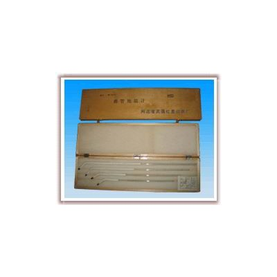 WQG-16曲管温度计,土壤温度计厂家,玻璃温度计