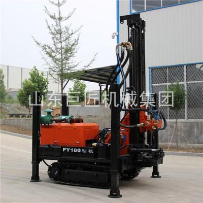 现货履带式气动水井钻机巨匠集团FY-180打岩石钻机
