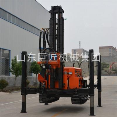 打井机供应气动水井钻机巨匠FY-200型履带式水井钻机