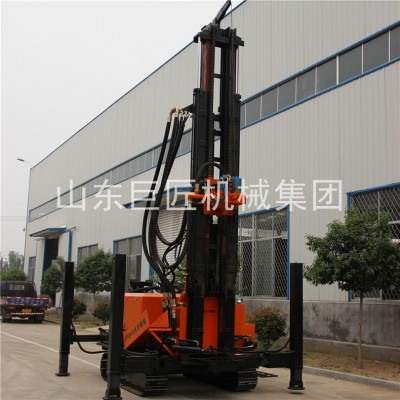 供应400米打井机履带式水井气动钻机FY-400 履带钻井机