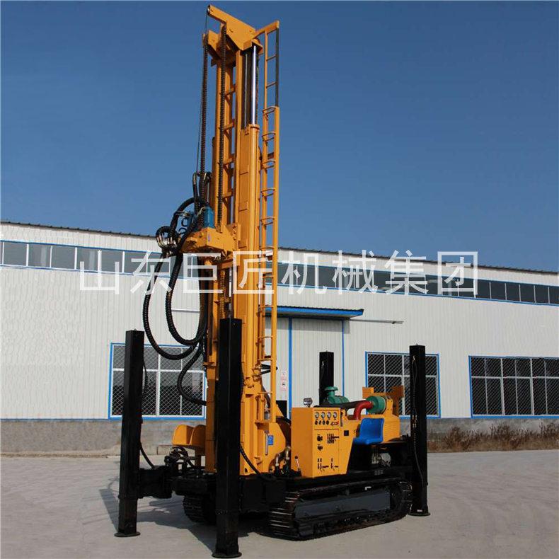 供应气动钻机600米岩石打井FY-600履带式水井钻机