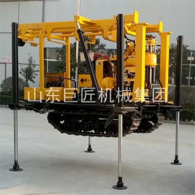130米液压履带钻机取芯供应XYD-130履带式钻机图片