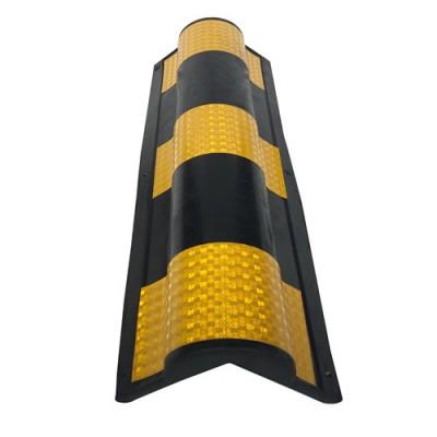 粤盾交通圆角橡胶护墙角防撞条 防撞护角