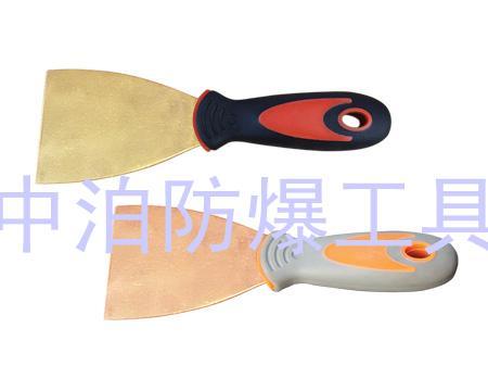 厂家供应防爆削皮刀 泥子刀 圆弧抹刀 电工刀 刮丝刀