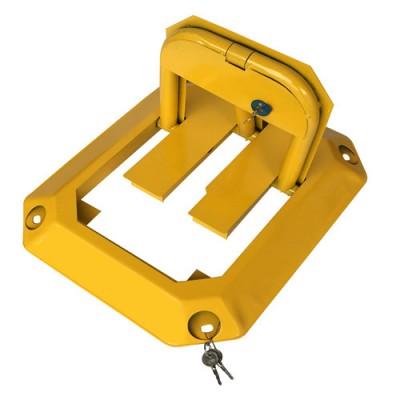 厂家直销  粤盾交通防压八角锁 车位锁 汽车地锁 加固车锁
