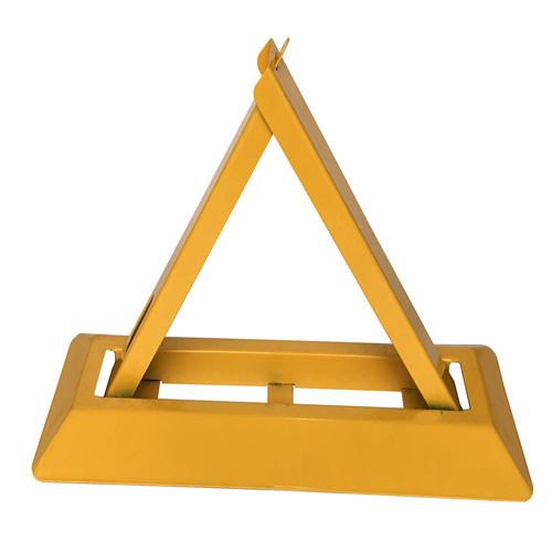 粤盾交通A型三角车位锁地锁 手动车位锁防压车位锁占位汽车地锁