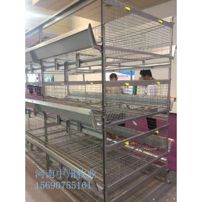 层叠式蛋鸡笼河南中州牧业厂家生产