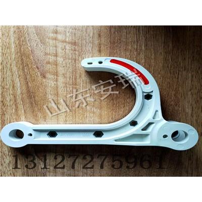 GD-PVC/ST50矿用管道挂钩厂家,管道塑钢挂钩特点