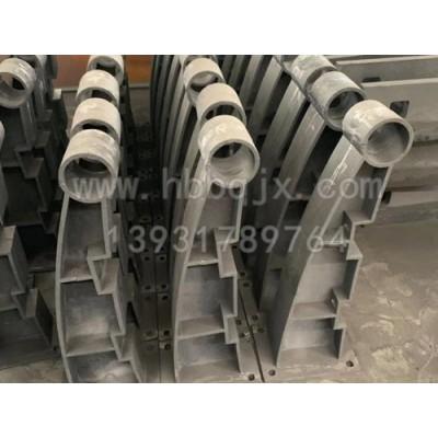 江西铸钢护栏支架制造厂家/泊泉机械制造