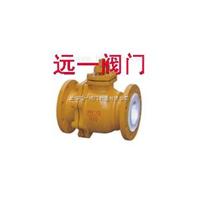 衬氟球阀Q41F46-10C/Q41F46-16C