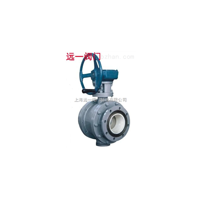 蜗轮陶瓷球阀Q341TC-10C/Q341TC-16C