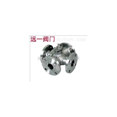 不锈钢四通球阀Q46F-10P/Q46F-16P/R/RL