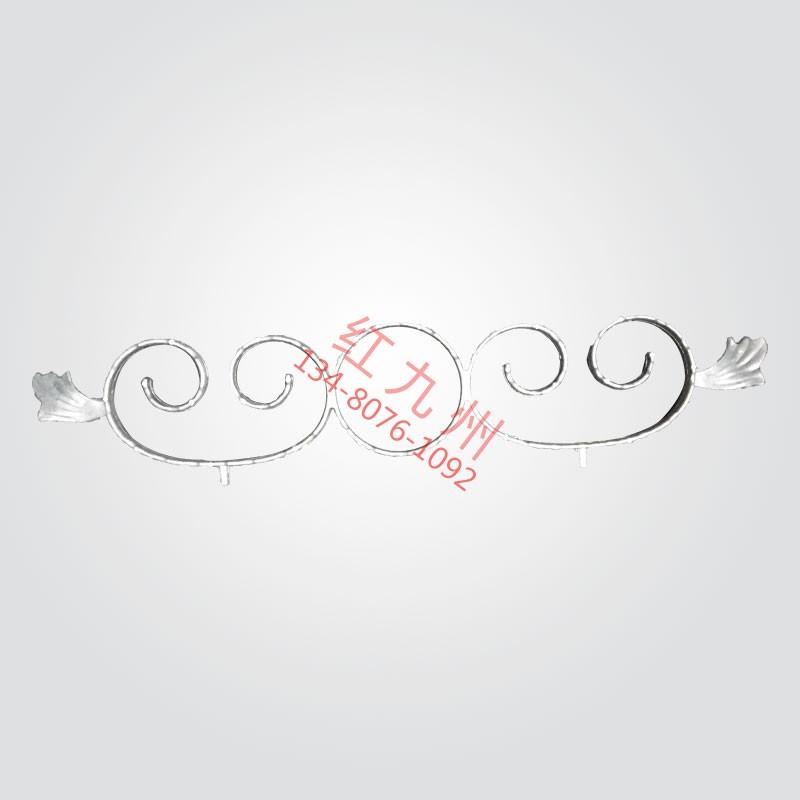 双艺腰花铝-红九州护栏配件