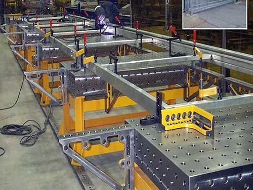 山东三维柔性焊接平台厂家供应/久丰量具经久耐用