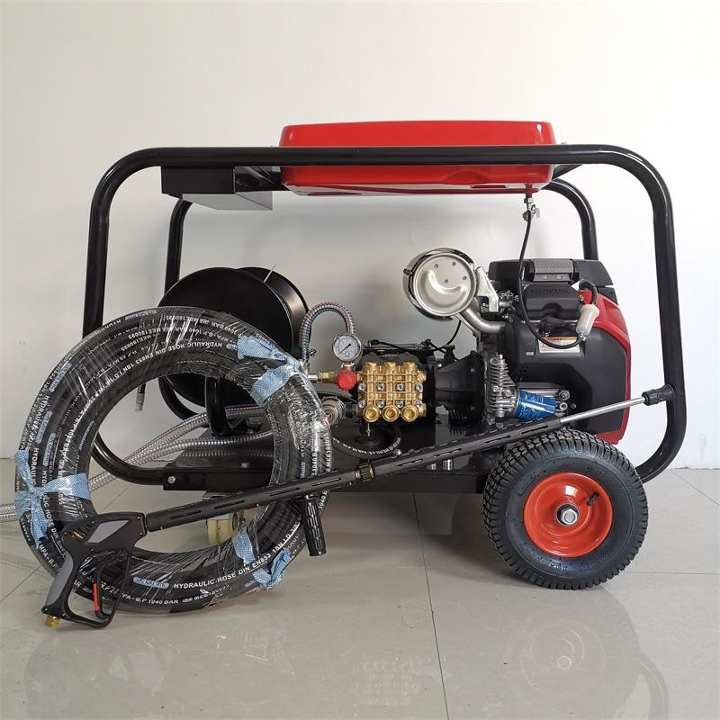 汽油式管道疏通机 多功能半自动式管道疏通清洗机  源头厂家