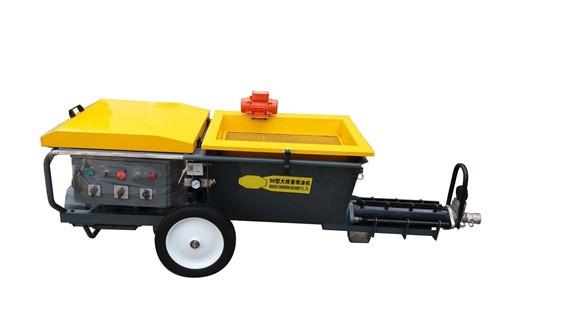 砂浆喷涂机操作简单效率高腻子喷涂机