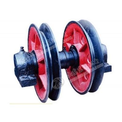 800固定天轮 矿用游动天轮 铸钢天轮 生产厂家