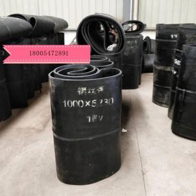 GLD2000给煤机锰钢甲带 给煤机耐磨皮带