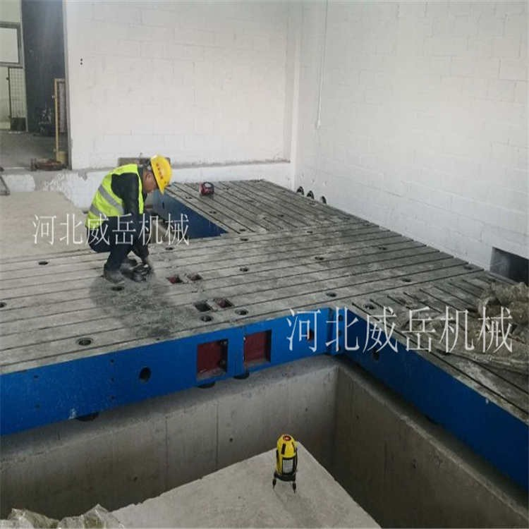 试验铁地板规格齐全铸铁平板刨床加工