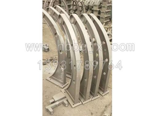 河南铸钢桥梁立柱订制_泊泉机械制造加工厂家