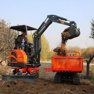 大马力的履带式挖掘机大棚用的小型挖掘机