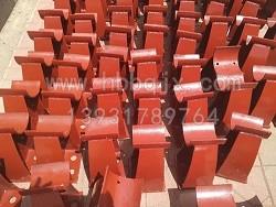 内蒙古铸钢护栏支架加工/泊泉机械订做厂家