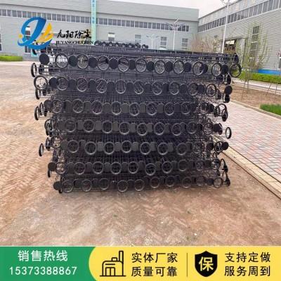 厂家直销 镀锌骨架 喷塑有机硅袋笼 袋笼 除尘配件