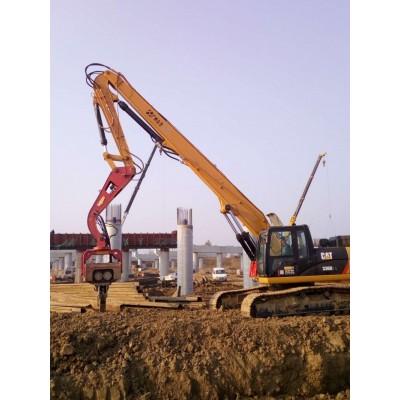 SANY/三一挖掘机改打桩机 众合机械提供全套改装方案 挖