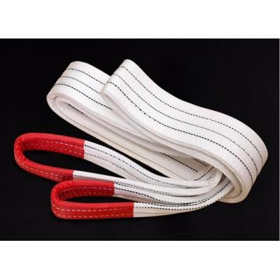 铝合金板材起吊怎么使用白色吊装带