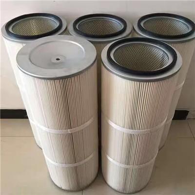 喷砂房除尘滤筒覆膜滤筒滤芯可定做300-350