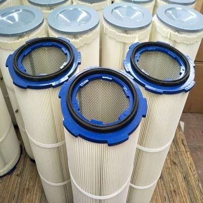 水泥钢厂设备滤筒除锈涂装喷漆配套粉尘滤筒3590