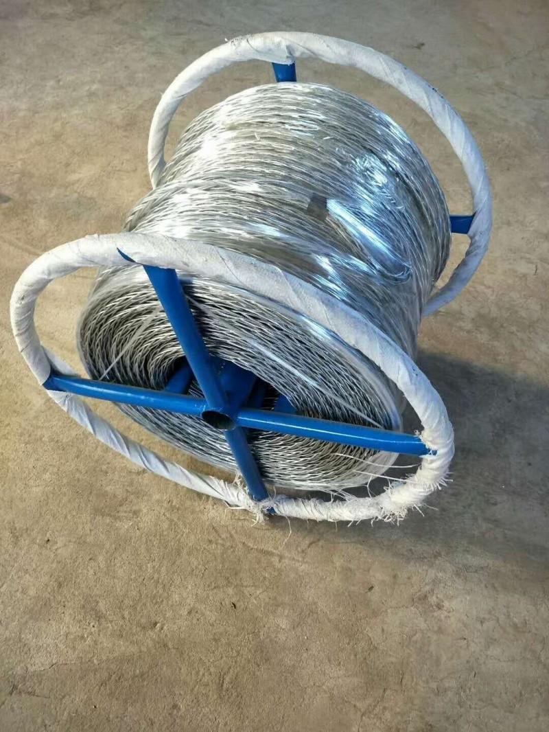 磨绳生产厂家大全 无扭钢丝绳型号及图片