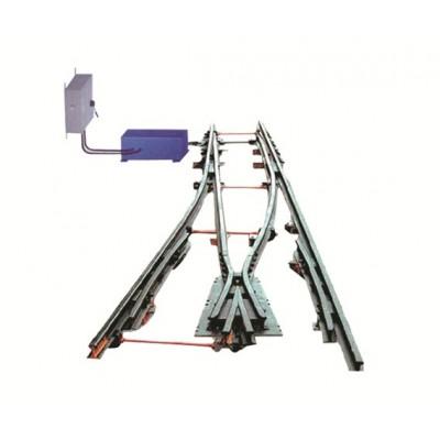 气控道岔装置安装方式QFC气控煤矿扳道器安全可靠操作方便