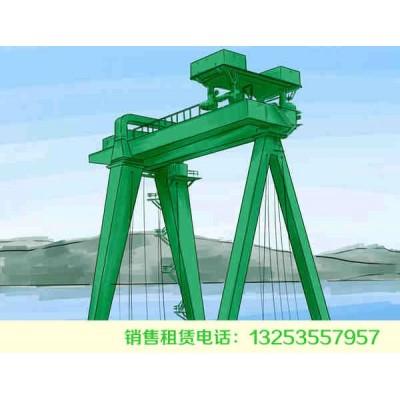 陕西榆林龙门吊出租公司专注各类起重机研发