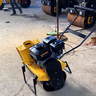 小型手扶单钢轮压路机 河北路面修补振动碾压机 路通生产厂家