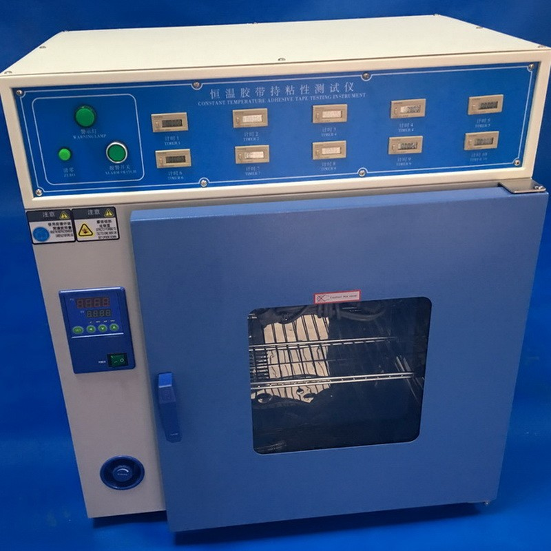 胶带胶纸高温保持力试验机