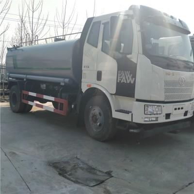国六一汽解放绿化15吨大型洒水车