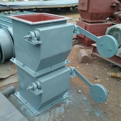 全新重锤翻板阀浙江双层重锤卸灰阀标准尺寸图