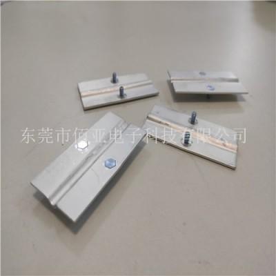 厂家供应铝软连接 铝箔软连接 软铝排非标加工定制