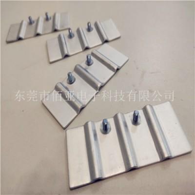 软铝排焊接厂家工艺 铝箔软连接压铆加工 冲压铝软连接工艺