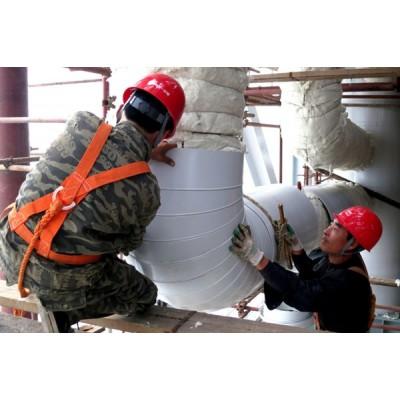设备保温高温管道保温工程硅酸铝毯铝皮保温